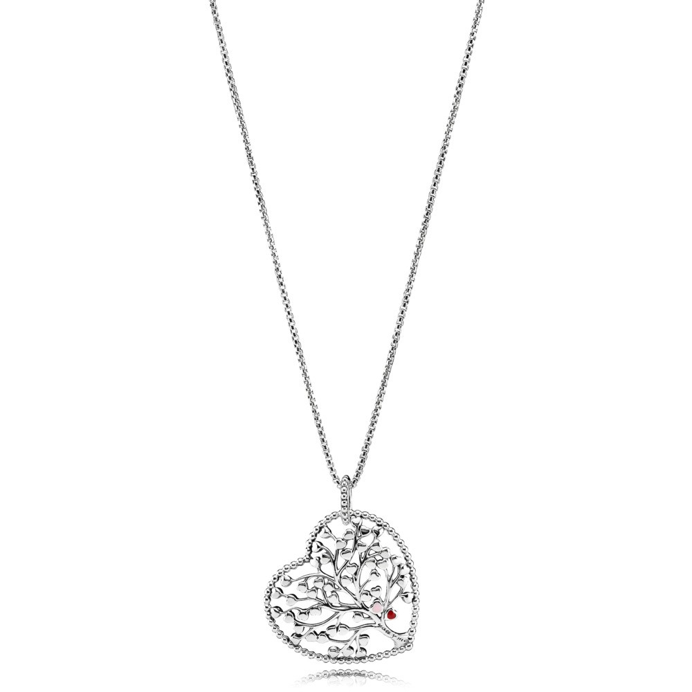 Necklaces – Pandora – Shopbrand Throughout 2020 Pandora Moments Medium O Pendant Necklaces (View 16 of 25)