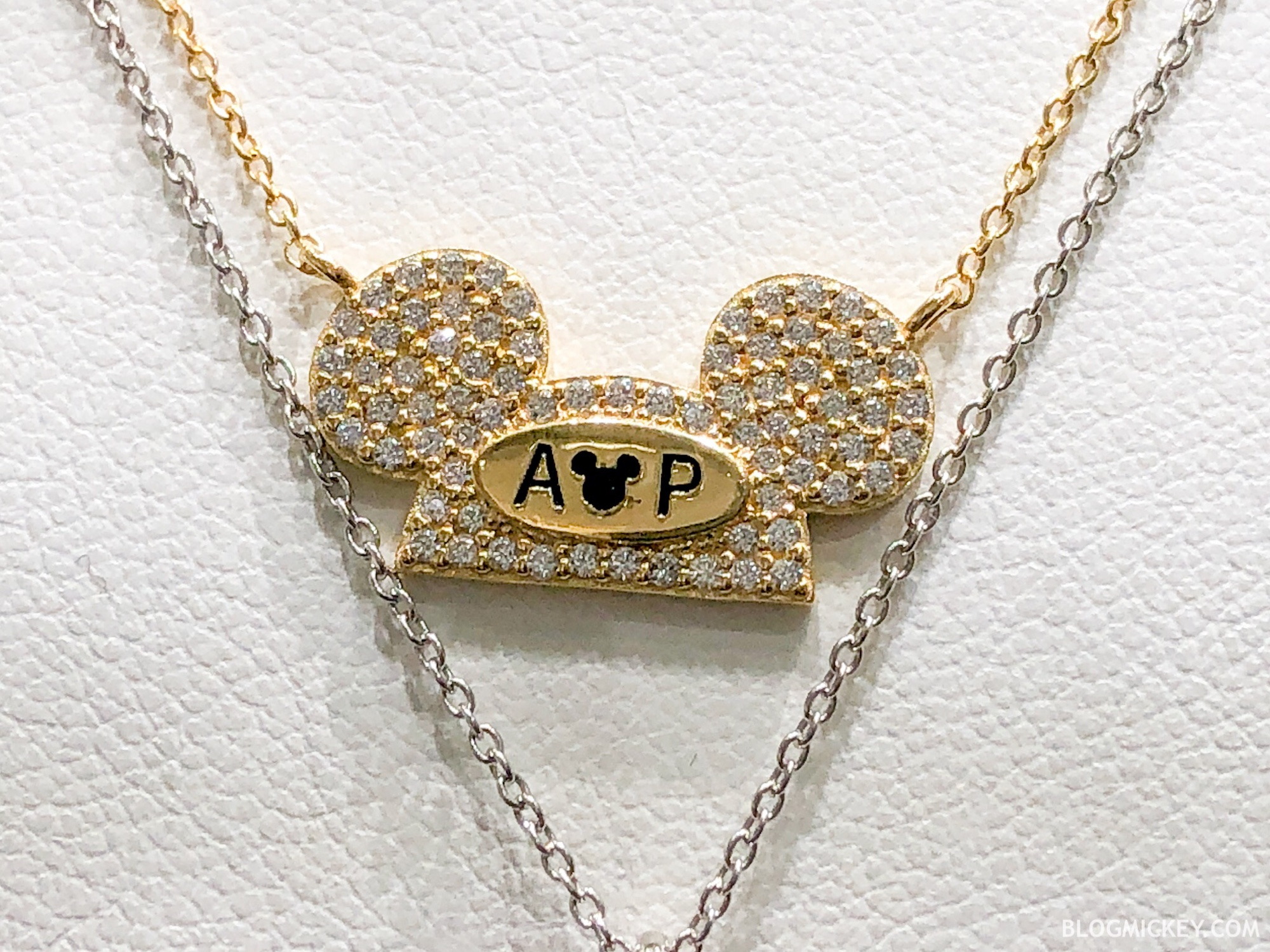 "New Annual Passholder And ""it's A Small World"" Necklaces Arrive At Inside Most Popular Disney Classic Mickey Pendant Necklaces (View 15 of 25)"