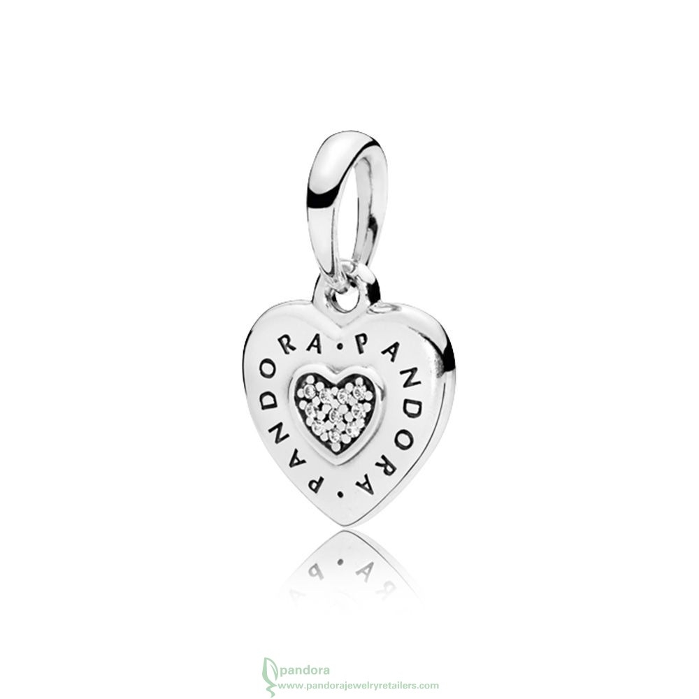 New Pandora Jewellery – Sell Pandora Logo Heart Necklace Pendant Intended For Current Pandora Logo Pendant Necklaces (Gallery 16 of 25)