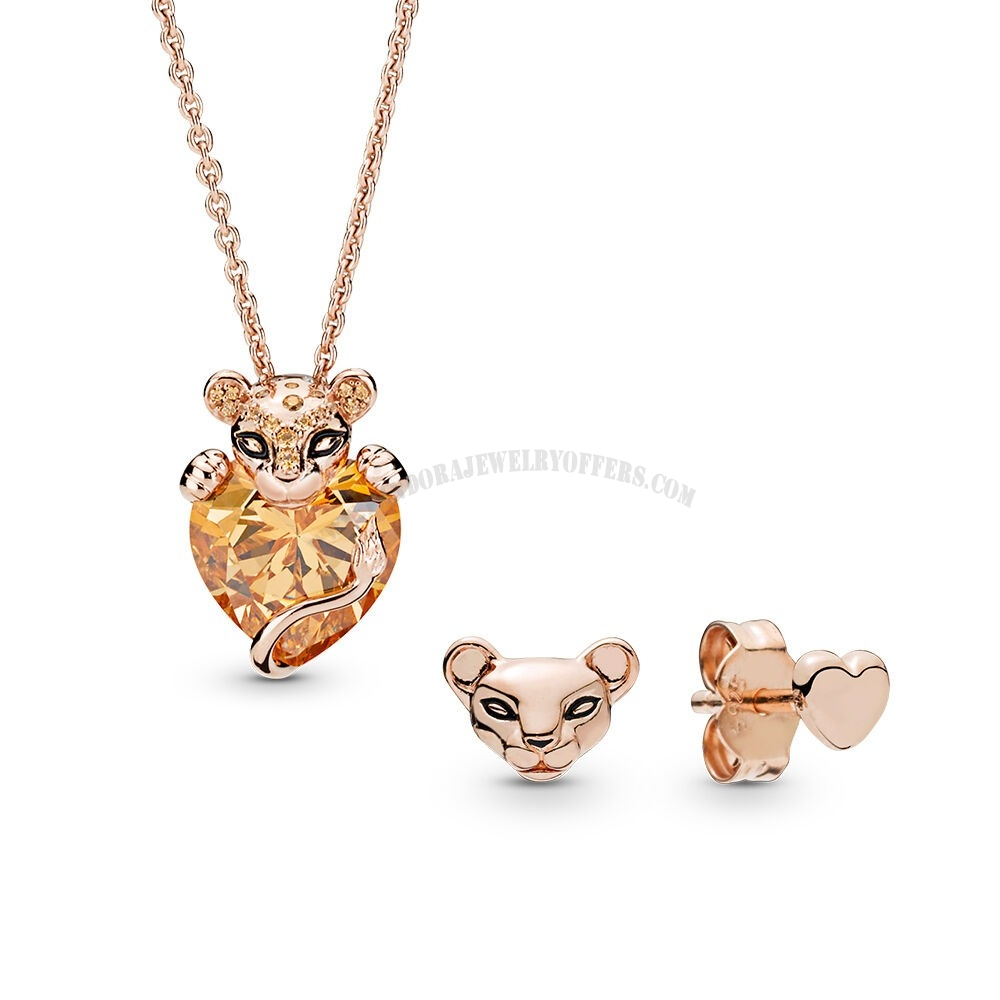 New Products | Throughout Newest Sparkling Lioness Heart Pendant Necklaces (View 10 of 25)