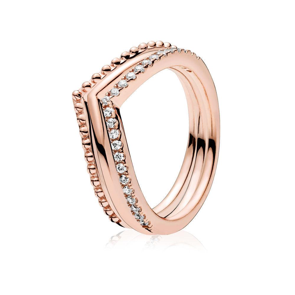 Norway Pandora Rings Wishbone 9526B 69912 Pertaining To 2018 Tiara Wishbone Rings (View 6 of 25)