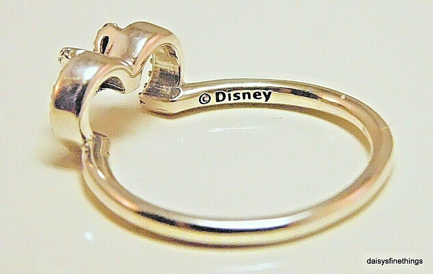 Nwt Authentic Pandora Disney Minnie Silhouette Ring #197509Cz Multiple Size With 2017 Disney Minnie Silhouette Rings (Gallery 21 of 25)