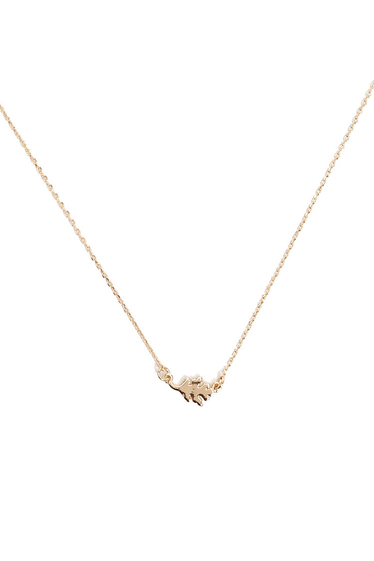 Oak Leaf Charm Necklace Inside Most Recent Oak Leaf Necklaces (View 8 of 25)