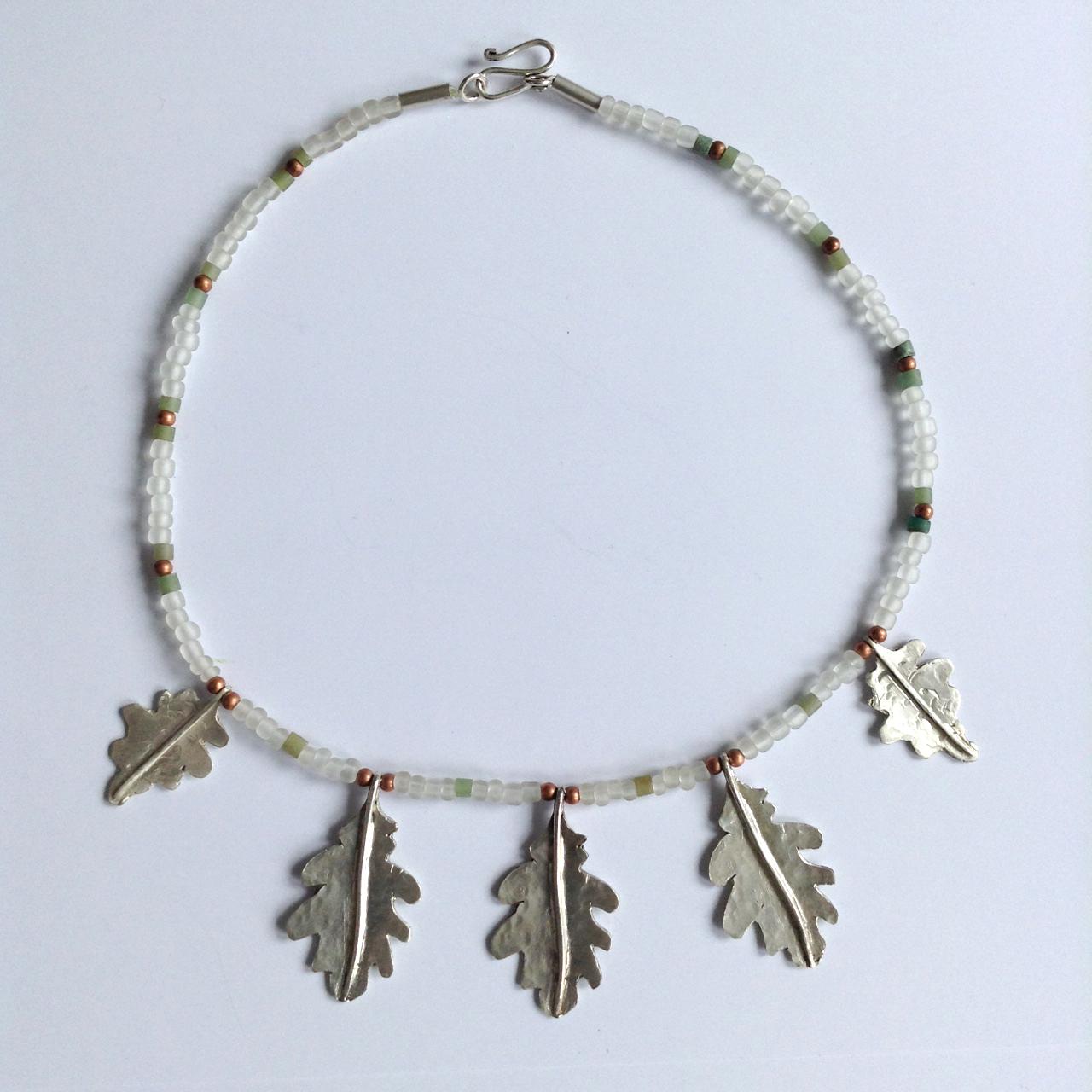 Oak Leaf Necklace Intended For Latest Oak Leaf Necklaces (Gallery 16 of 25)