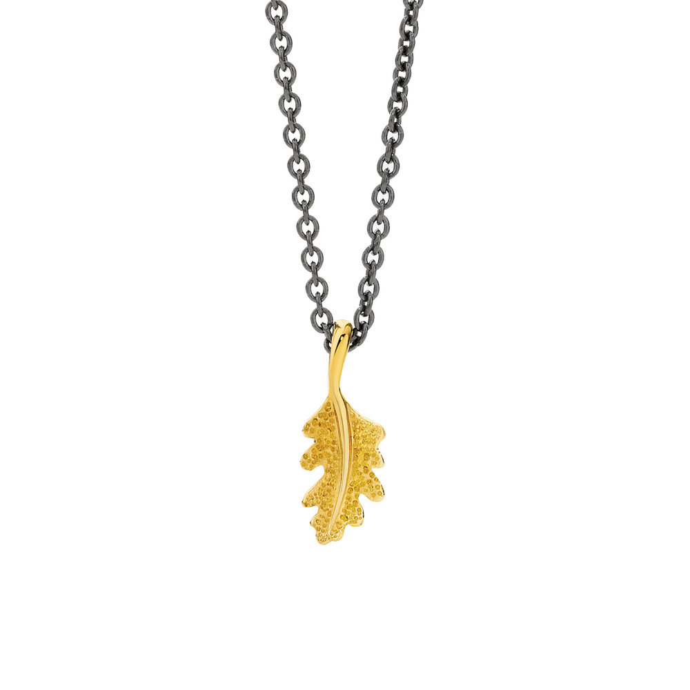 Oak Leaf Pendant — Victoria Buckley | Artisanal Diamonds & Fine Jewellery Throughout Current Oak Leaf Necklaces (View 7 of 25)