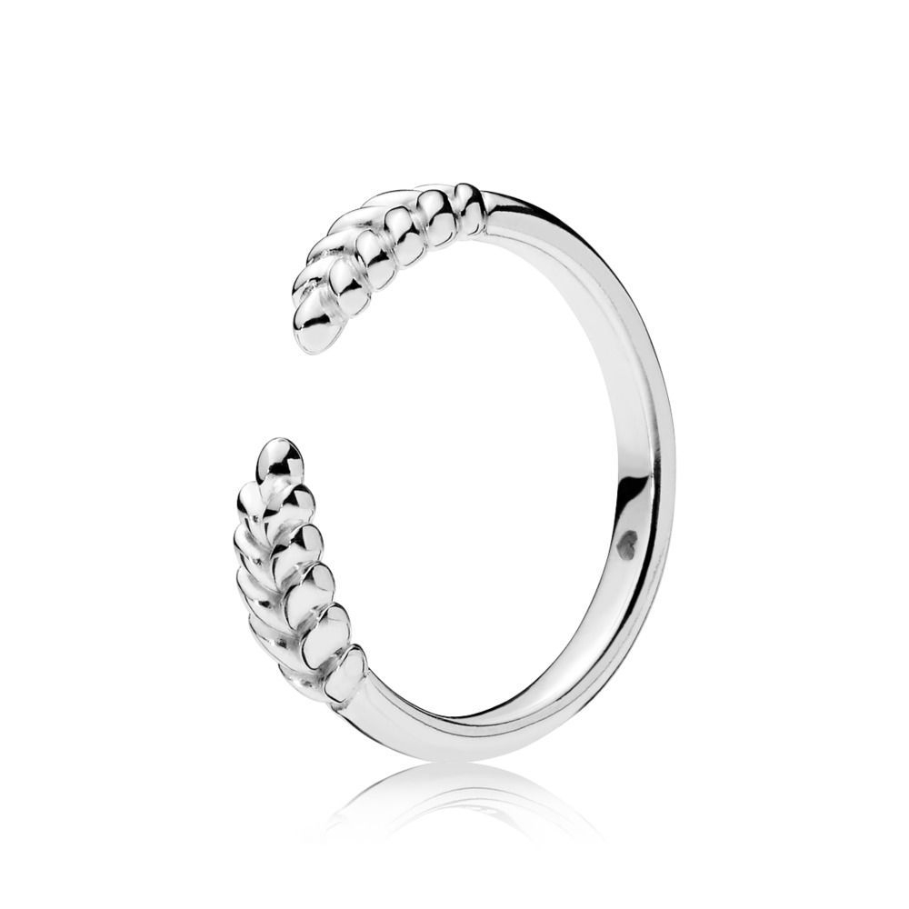 Open Grains Ring | Jewelry In 2019 | Silver Rings, Sterling Silver With Regard To Current Wheat Grains Wishbone Rings (View 16 of 25)