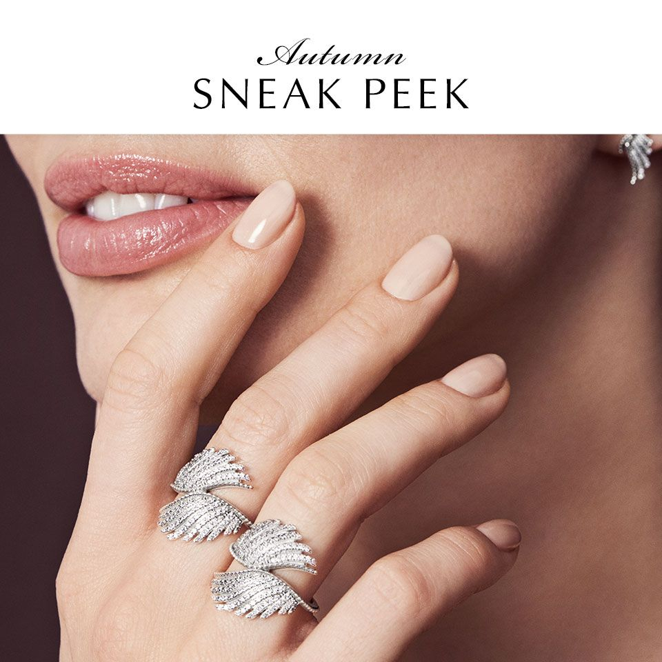 Order Pandora Rings Jewelry Zapata 7685B 306Ea With Regard To 2018 Shimmering Feather Rings (Gallery 17 of 25)