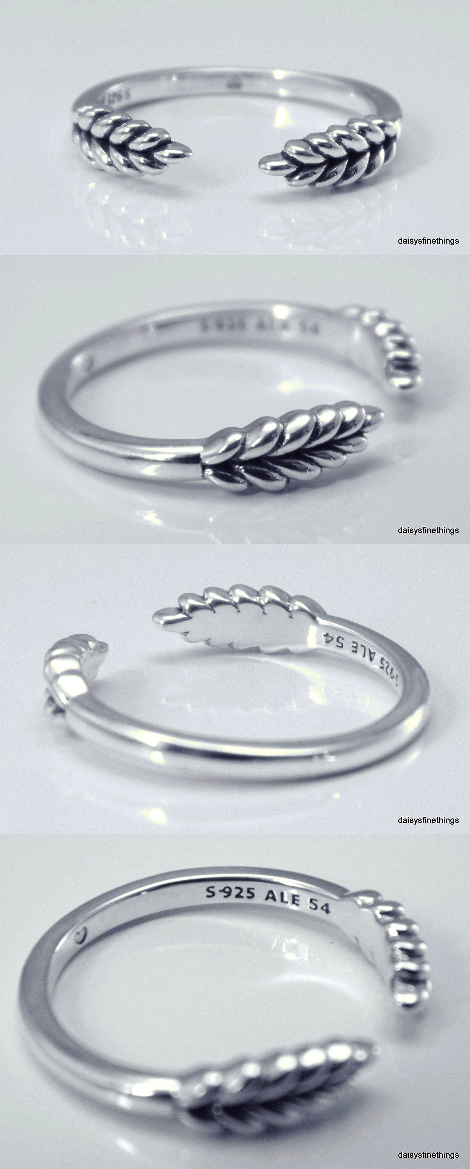 Other Fine Rings 177030: Authentic Pandora Silver Ring Open Grains Intended For Most Recent Wheat Grains Wishbone Rings (View 17 of 25)