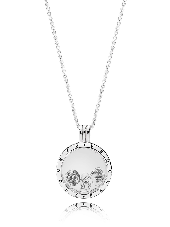 Pandora 08322 60 Locket Set Little Boy Throughout Latest Interlocked Hearts Locket Element Necklaces (View 16 of 25)