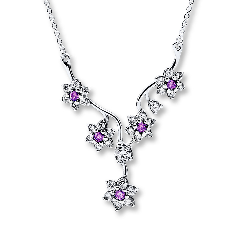 Featured Photo of Forget Me Not Necklaces