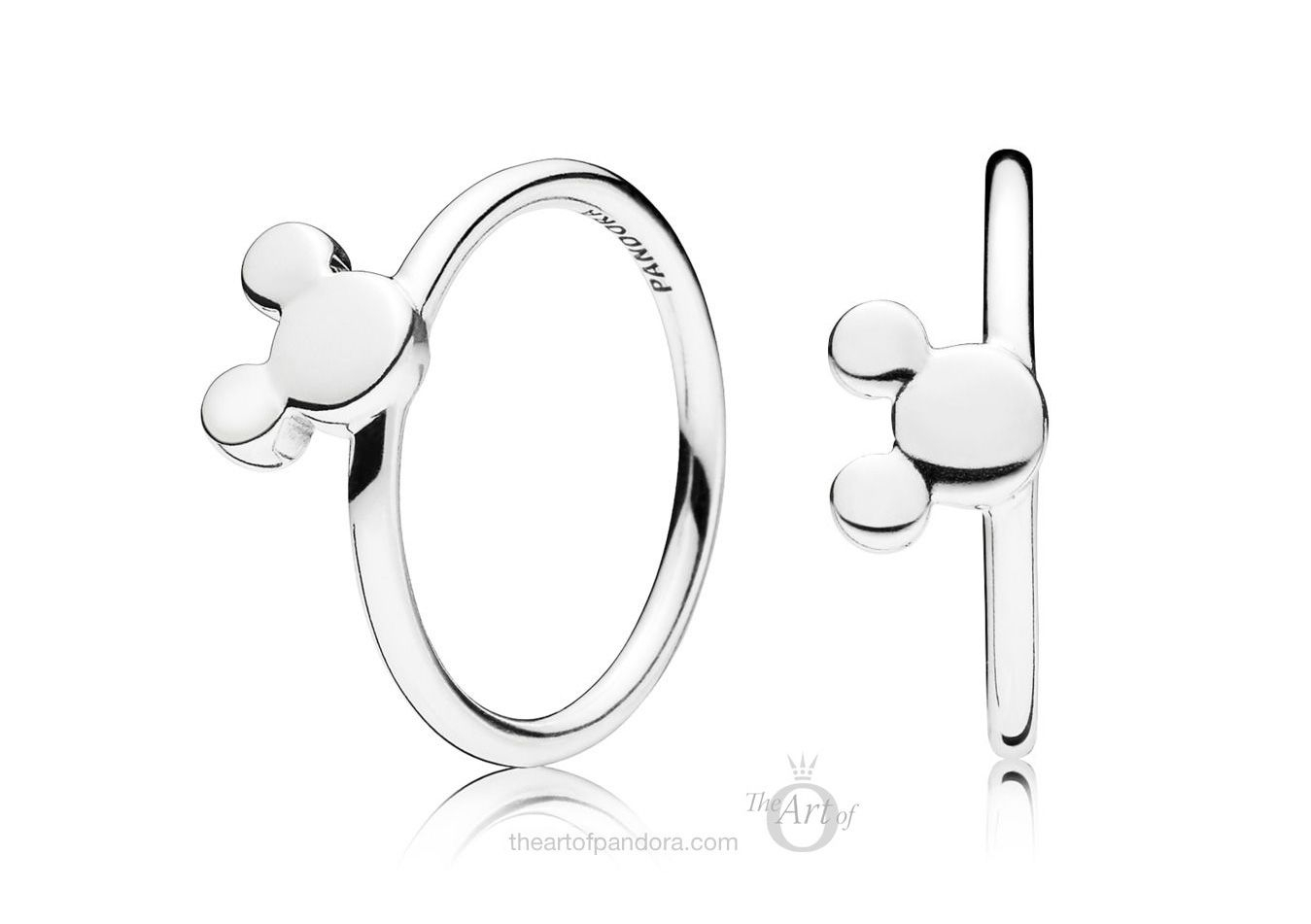 Pandora 2018 Winter Collection | Pandora Nuevo Vicio | Disney With Regard To 2017 Disney Mickey Silhouette Rings (View 12 of 25)
