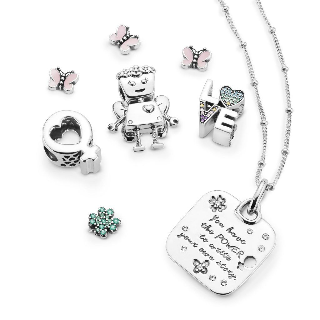 Pandora 2019 Spring Collection | Pandora | Pandora Blog, Pandora Throughout 2020 Female Empowerment Motto Pendant Necklaces (View 10 of 25)