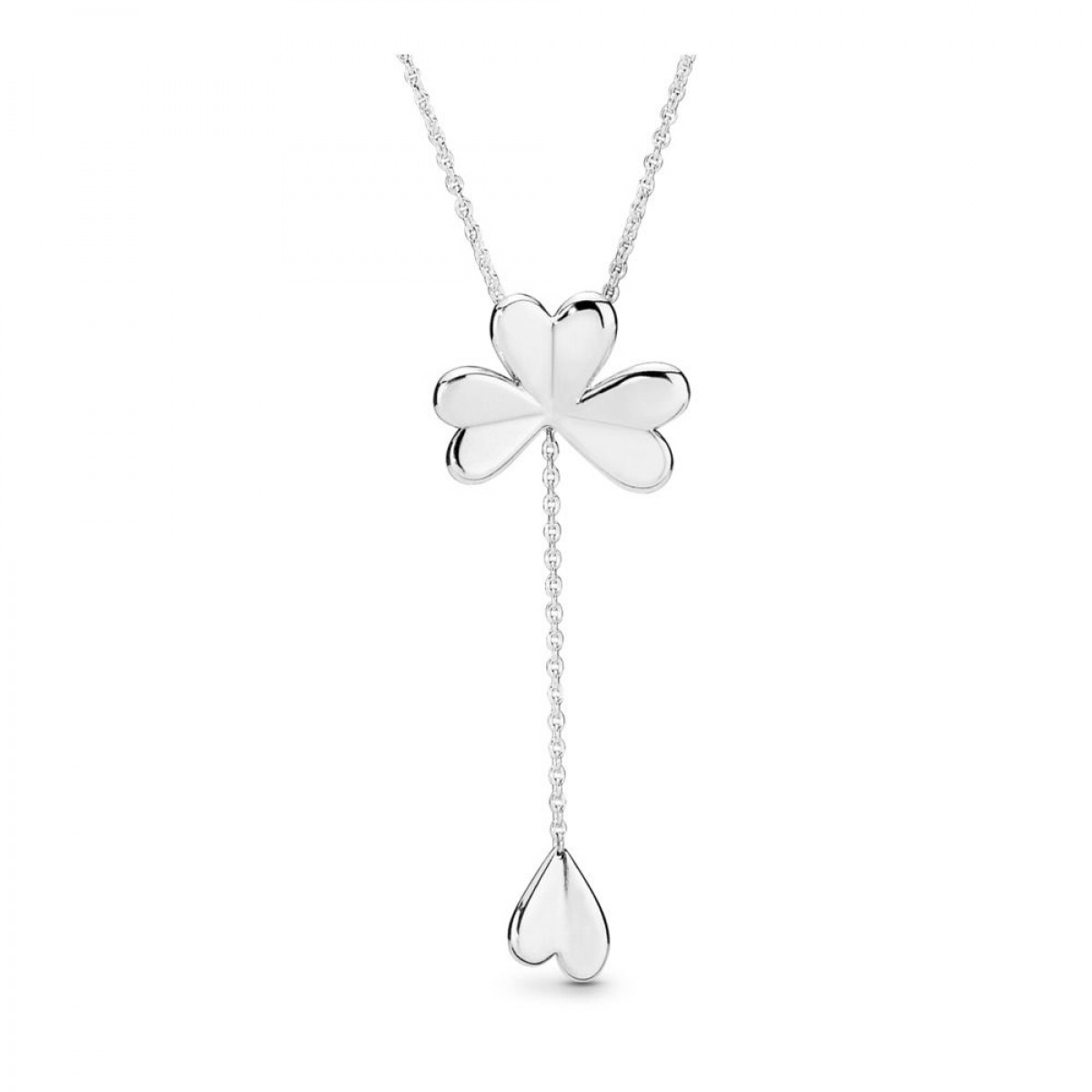 Pandora 397925 70 Kette Anhänger Lucky Four Leaf Clover With Regard To Most Popular Lucky Four Leaf Clover Locket Element Necklaces (View 20 of 25)