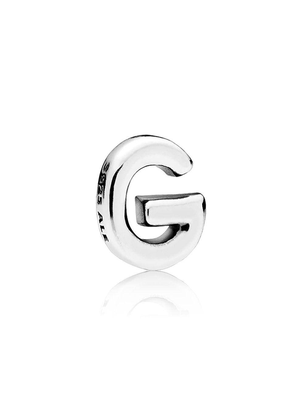 Pandora 797325 Petite Locket Charm Letter G Regarding Newest Letter G Alphabet Locket Element Necklaces (View 12 of 25)