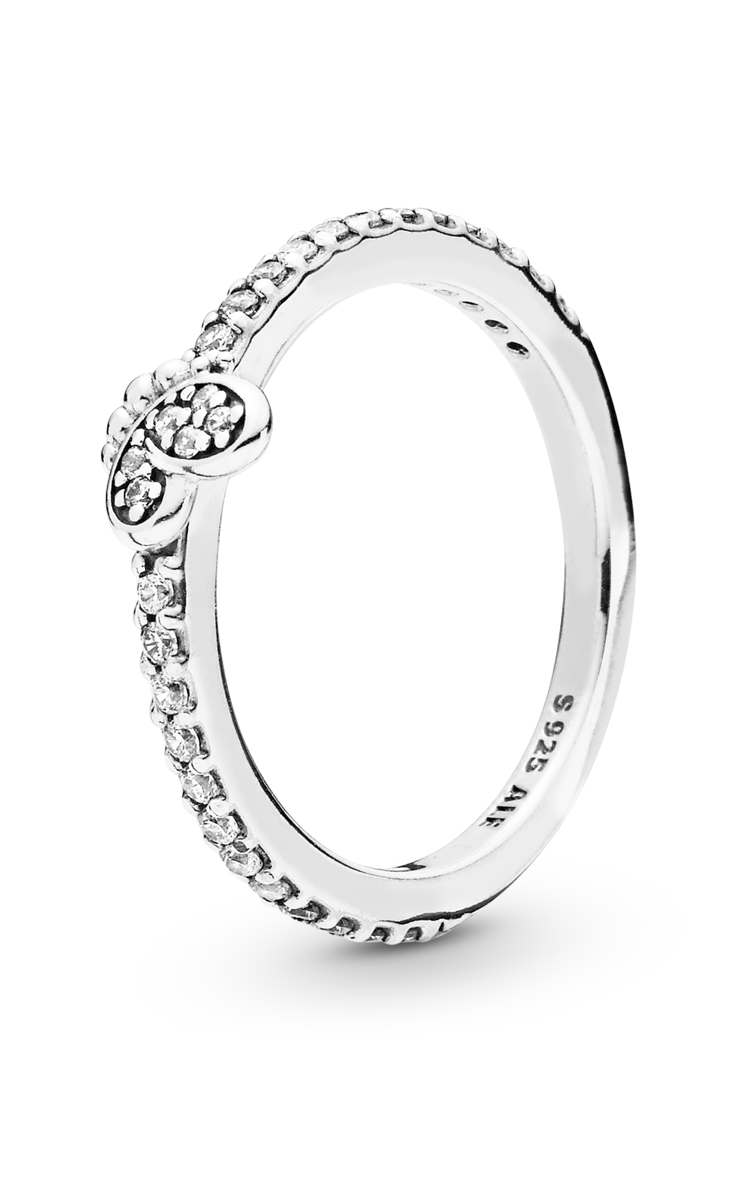 Pandora Bedazzling Butterfly Ring Clear Cz 197948Cz 48 Throughout Most Recent Shimmering Zigzag Rings (Gallery 23 of 25)