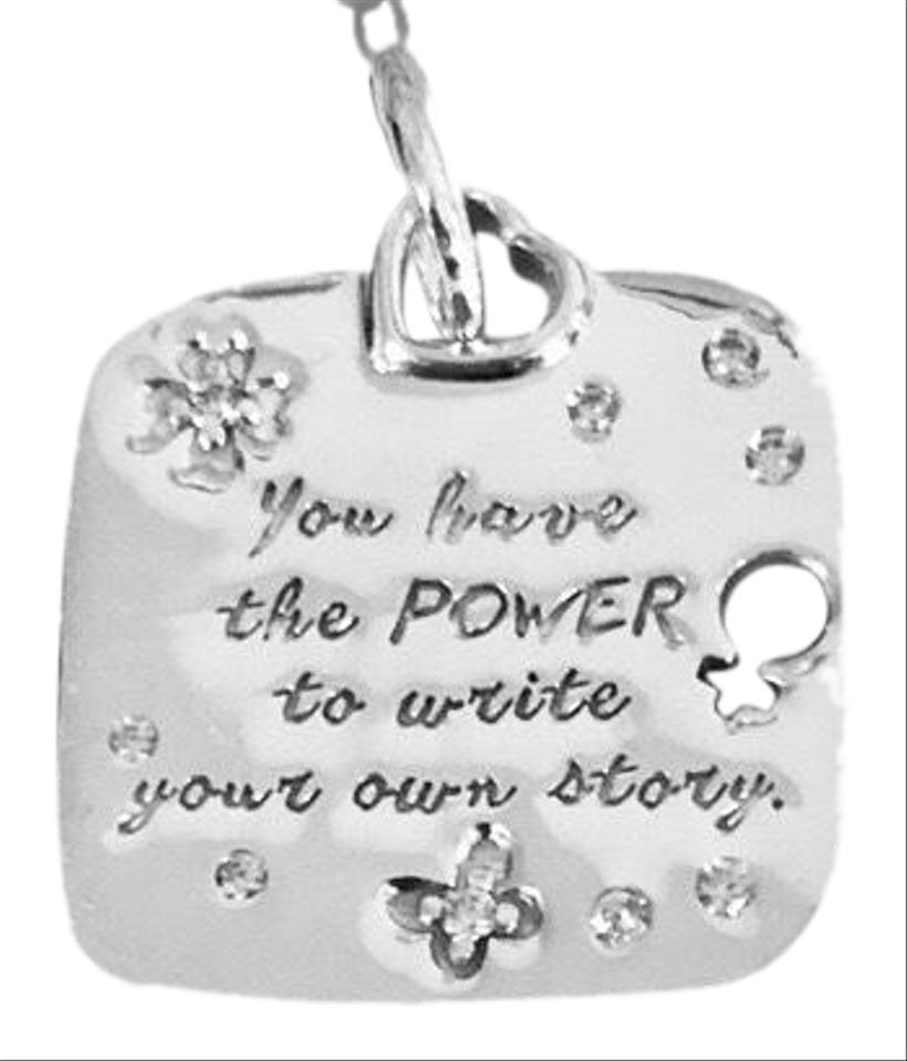 Pandora Box W Women's Empowerment Motto Dangle W/ Tag & Charm 9% Off Retail Throughout Recent Female Empowerment Motto Pendant Necklaces (View 12 of 25)