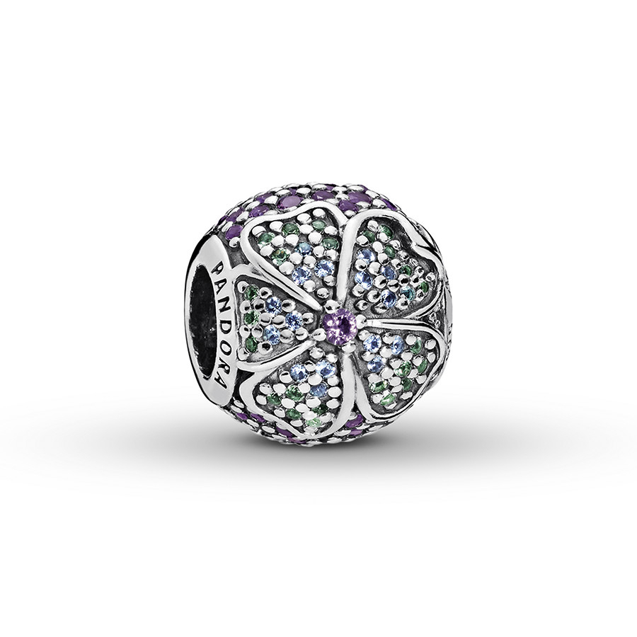 Pandora Charm Glorious Bloom Sterling Silver With Best And Newest Glorious Bloom Pendant Necklaces (View 9 of 25)