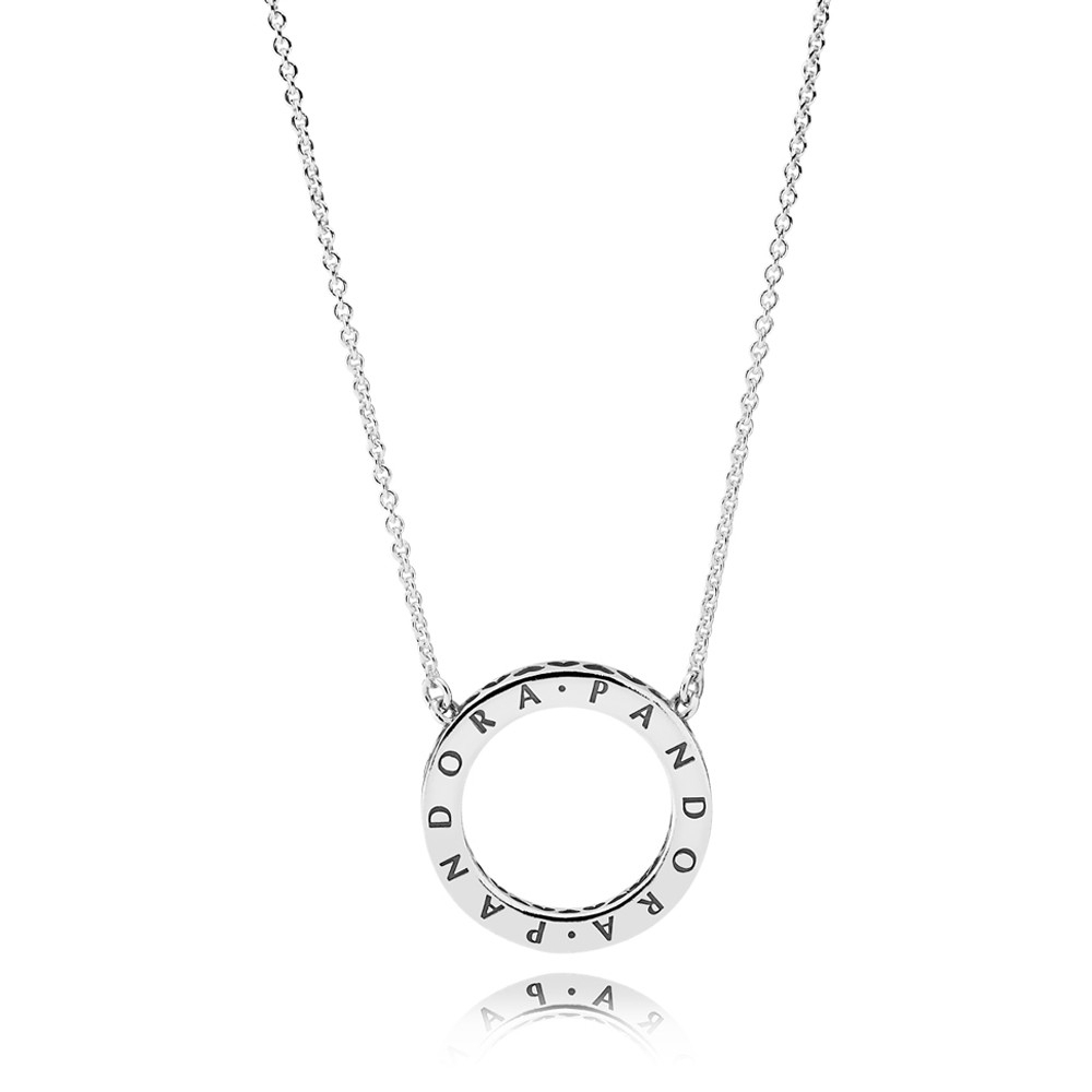 Pandora Circle Of Sparkle Necklace 590514cz 45 Inside Most Popular Circle Of Sparkle Necklaces (View 2 of 25)
