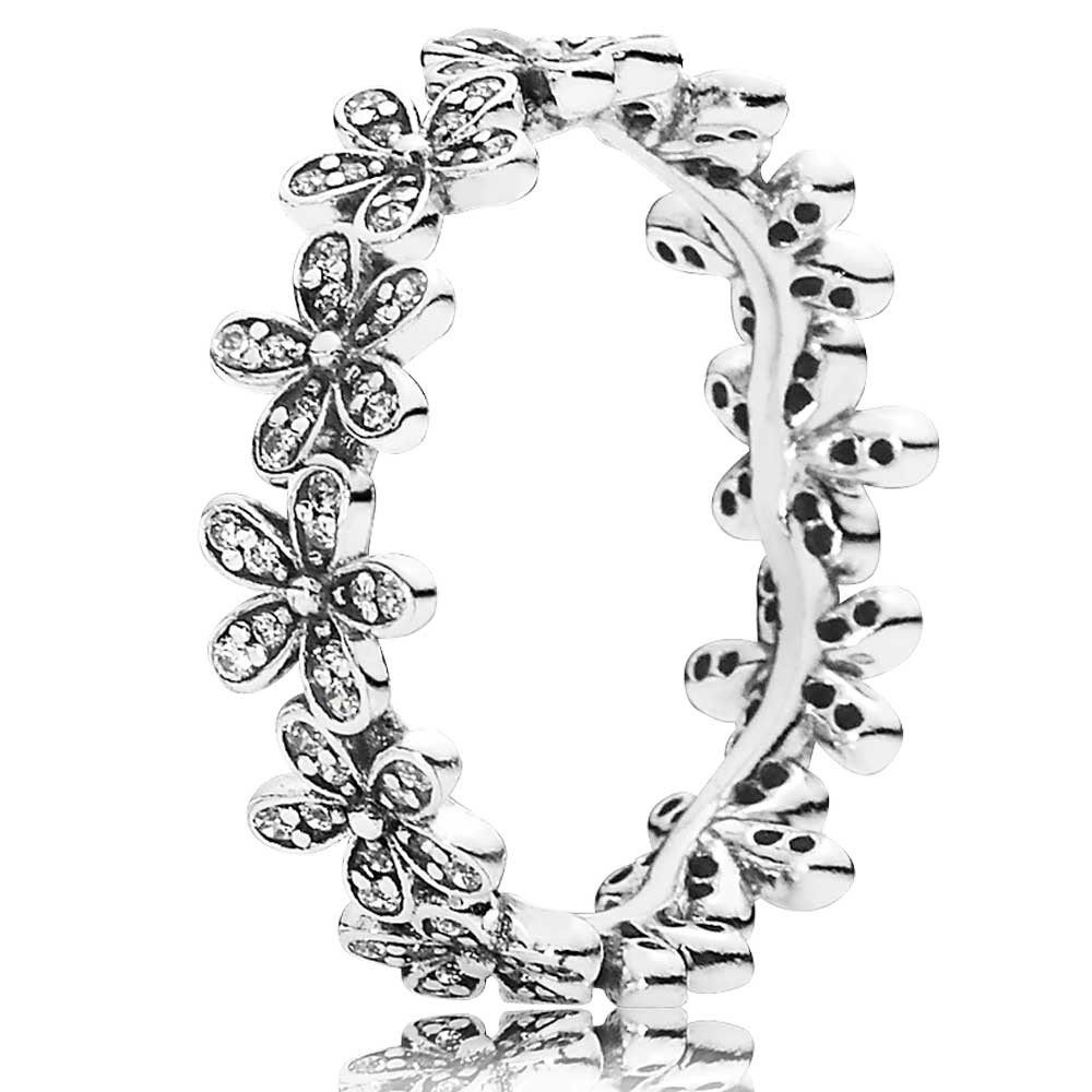 Pandora Daisy Flower Ring 190934cz In Most Recently Released Sparkling Daisy Flower Rings (View 15 of 25)