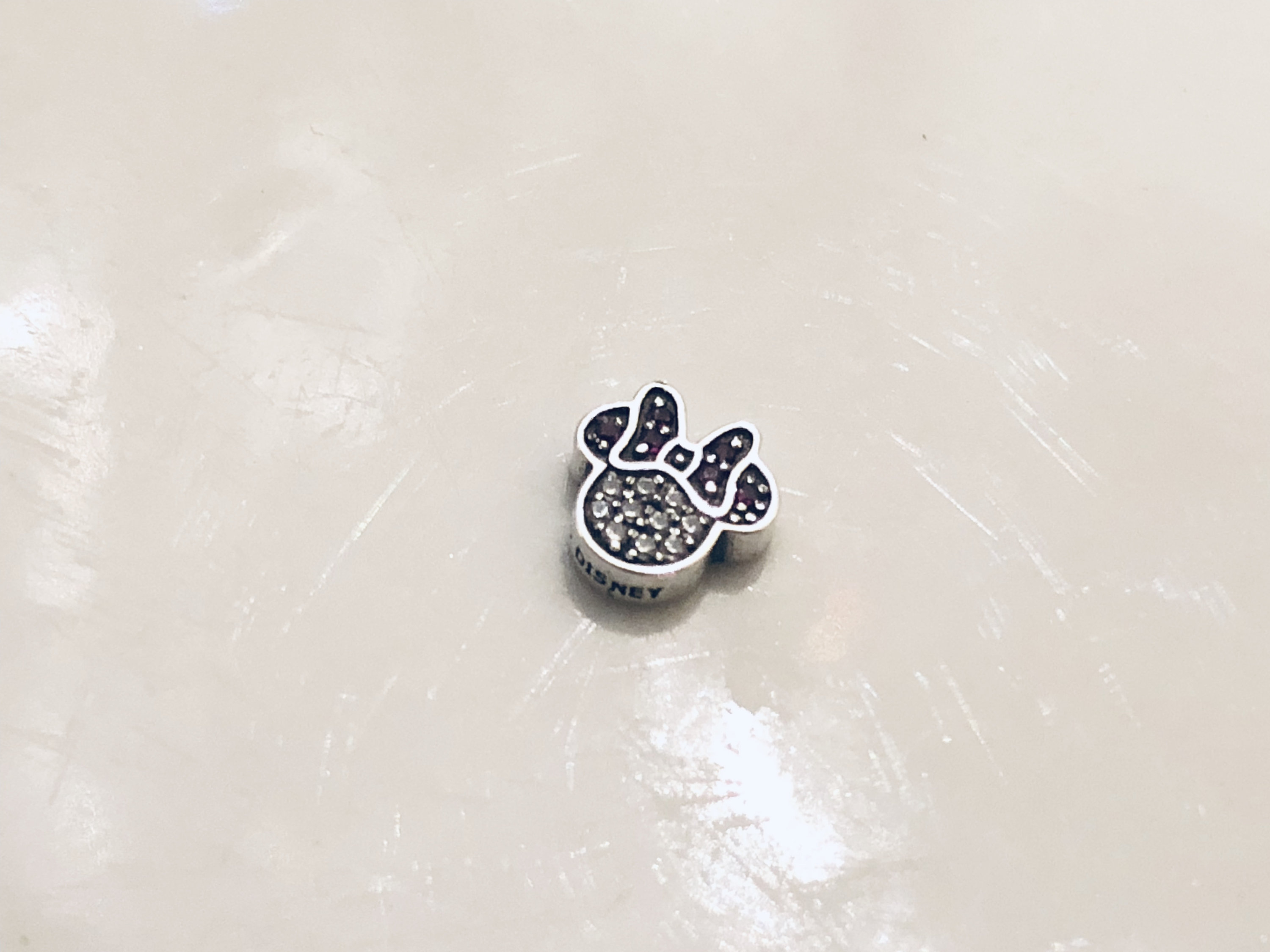 Pandora Disney Minnie Mouse Icon Petite Locket Charm Within Current Disney Sparkling Mickey Icon Petite Locket Charm Necklaces (View 7 of 25)
