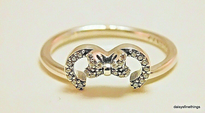 Pandora Disney Minnie Silhouette 925 Silver Ring Size Eur 56 Us  (View 14 of 25)