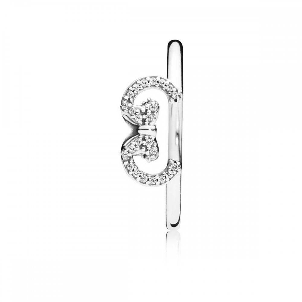 Pandora Disney, Minnie Silhouette Ring With Most Up To Date Disney Minnie Silhouette Rings (View 19 of 25)
