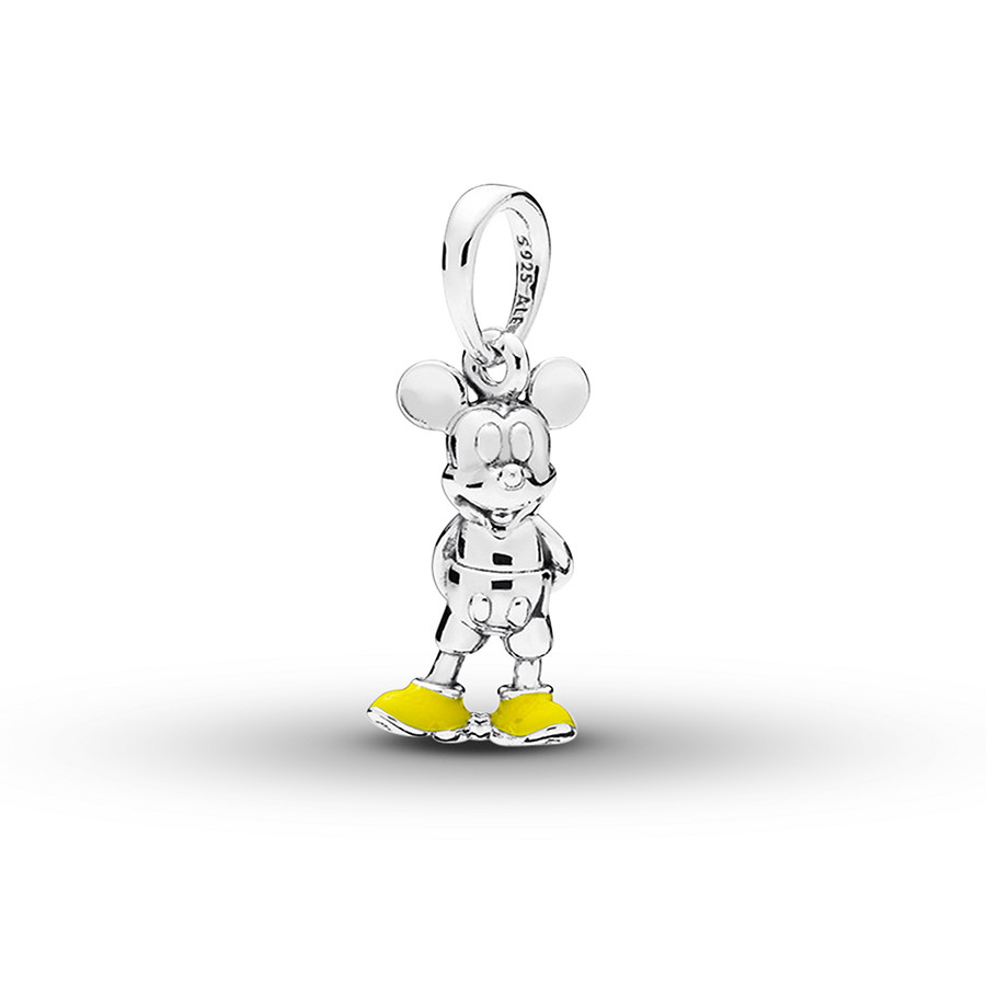 Pandora Disney Pendant Classic Mickey Sterling Silver Inside Most Recently Released Disney Classic Mickey Pendant Necklaces (View 21 of 25)