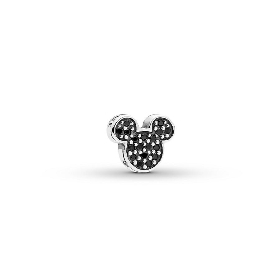 Pandora Disney Petite Charm Sparkling Mickey Icon St (View 17 of 25)