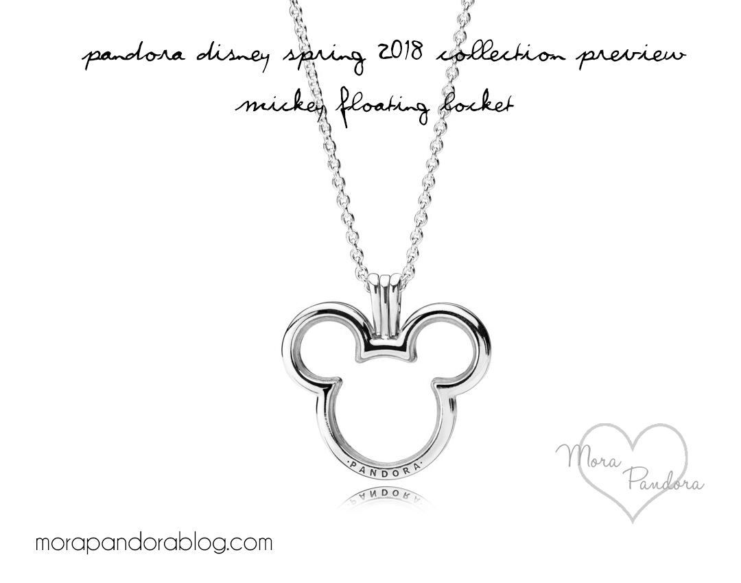 Pandora Disney Spring/summer 2018 Collection Release | Disney Pertaining To Most Current Disney Mickey Floating Locket Necklaces (View 9 of 25)