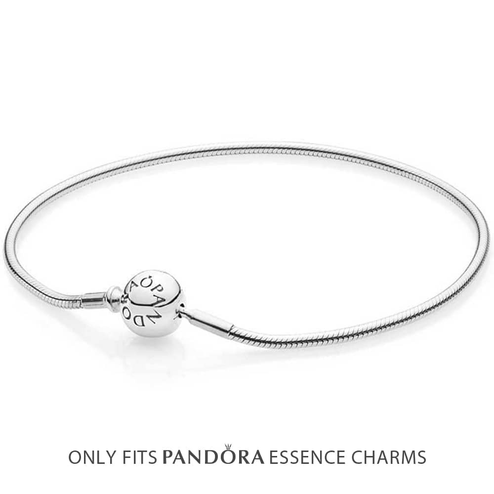 Pandora Essence Charm Bracelet 596000 With Regard To Best And Newest Pandora Moments Small O Pendant Necklaces (View 10 of 25)
