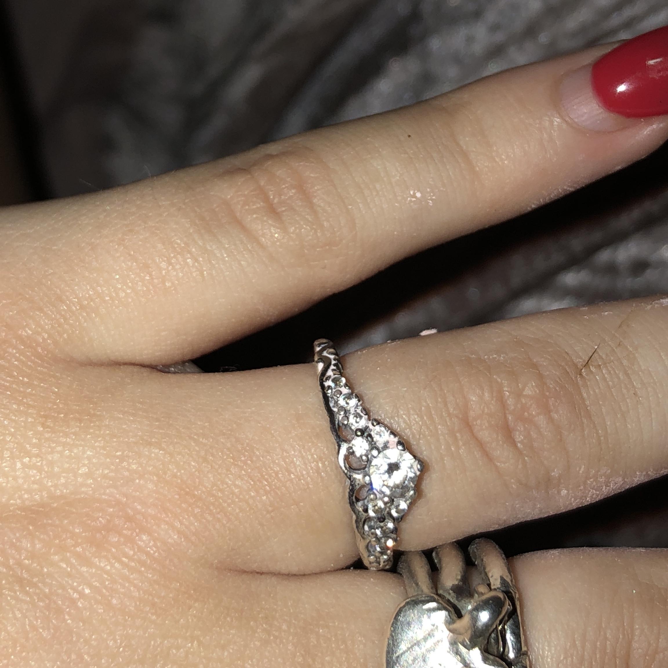 Pandora Fairytale Tiara Princess Ring Size 52 Marks – Depop Inside Current Fairytale Tiara Rings (View 11 of 25)