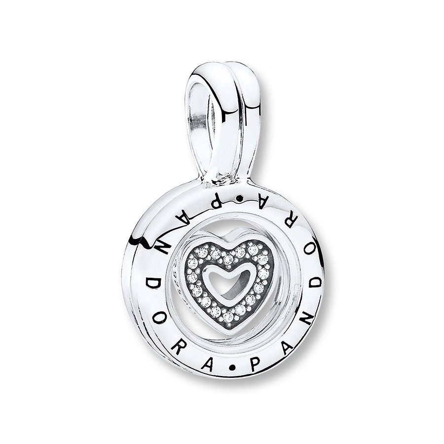Pandora Floating Heart Locket Charm Sterling Silver With Regard To Most Recently Released Family Script Locket Element Necklaces (View 11 of 25)