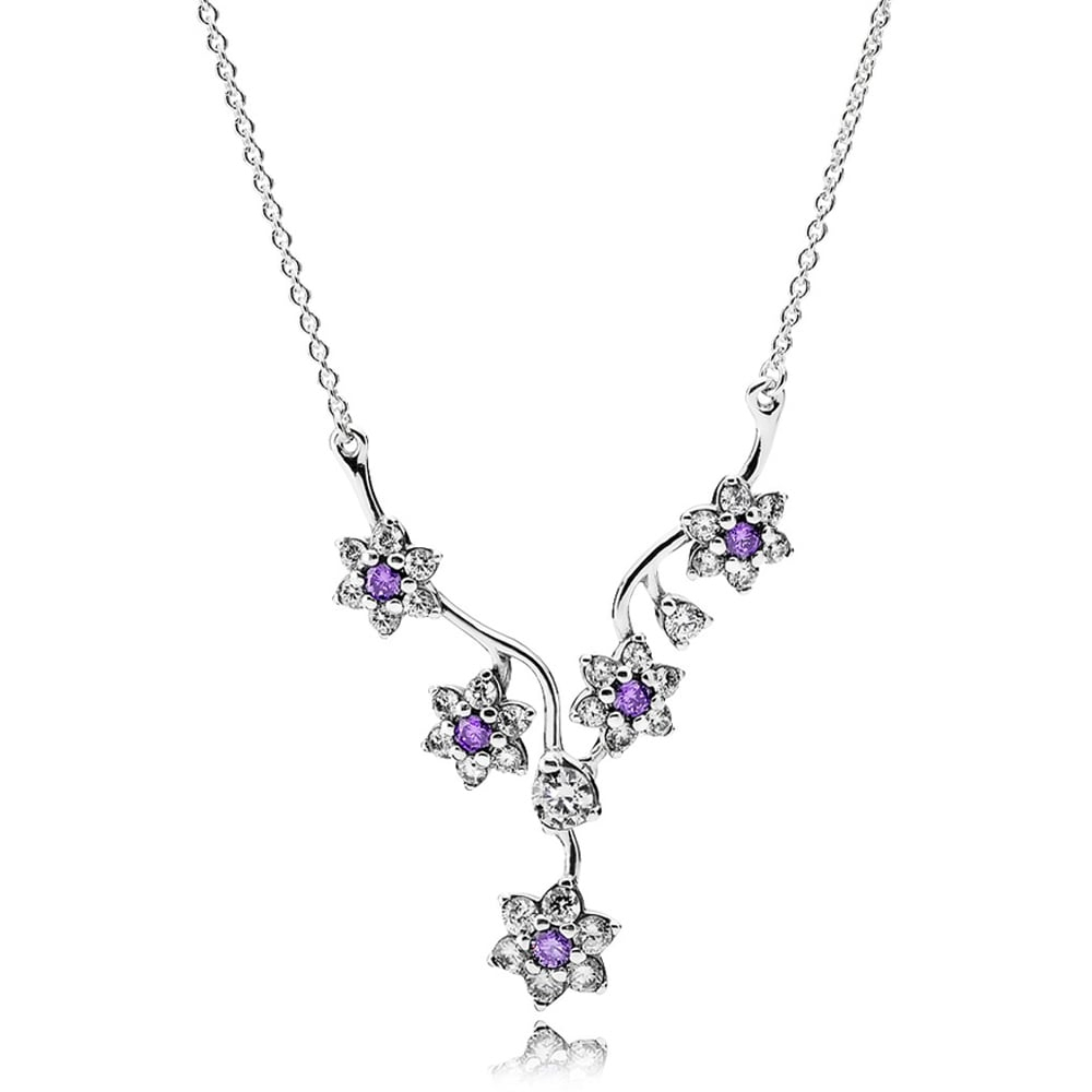 Pandora Forget Me Not Necklace For Best And Newest Forget Me Not Necklaces (View 8 of 25)