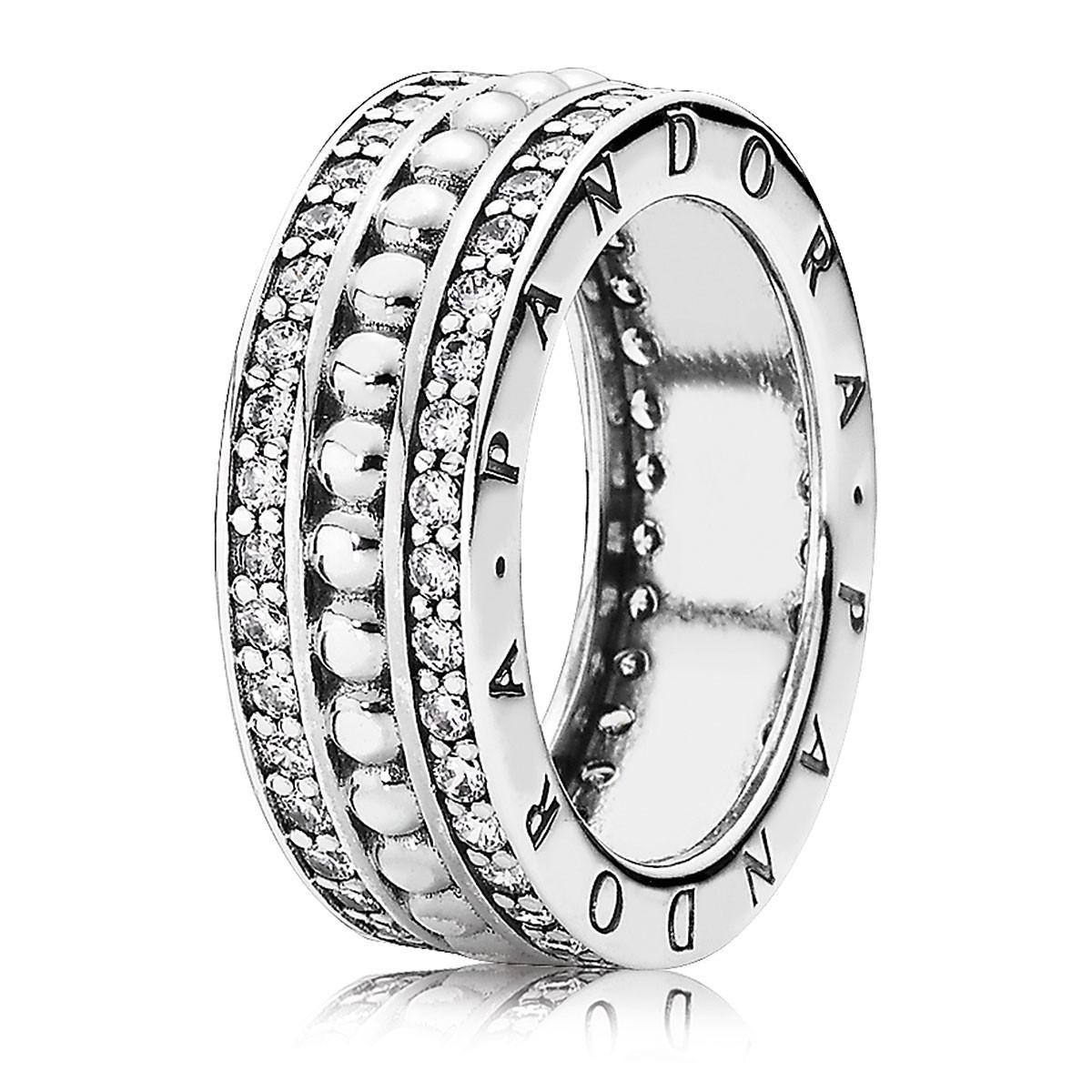 Pandora Für Immer Pandora Mit Klarer Cz Ring 190962cz Online Kaufen Intended For 2017 Pandora Logo Pavé Rings (View 8 of 25)