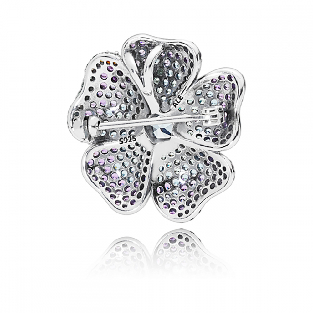 Pandora Glorious Bloom Pendant And Brooch With Regard To Best And Newest Glorious Bloom Pendant Necklaces (View 7 of 25)