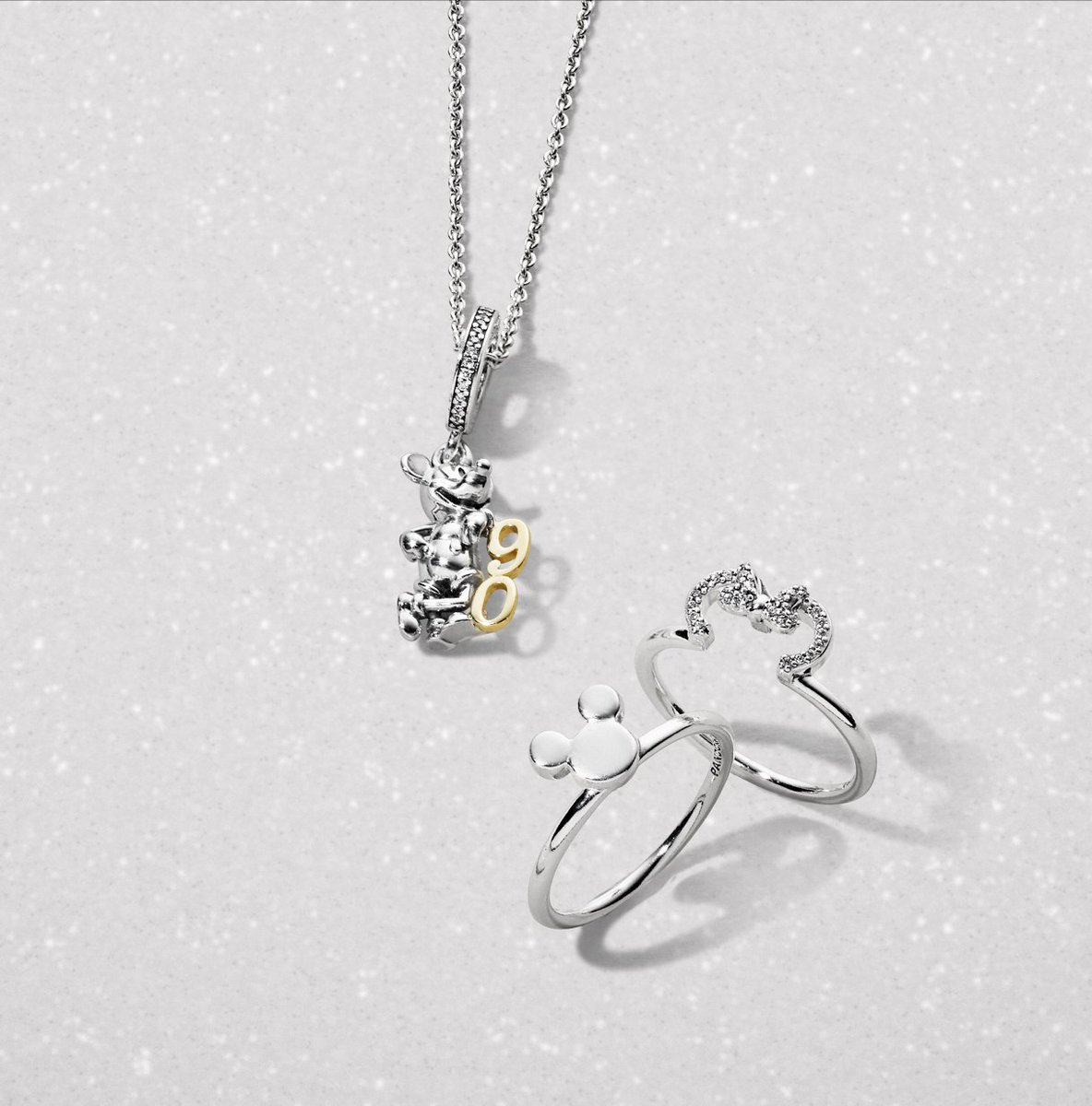 """Pandora Halifax On Twitter: """"we Love The New Mickey Mouse And Minnie Throughout 2018 Disney Minnie Silhouette Rings (View 21 of 25)"""