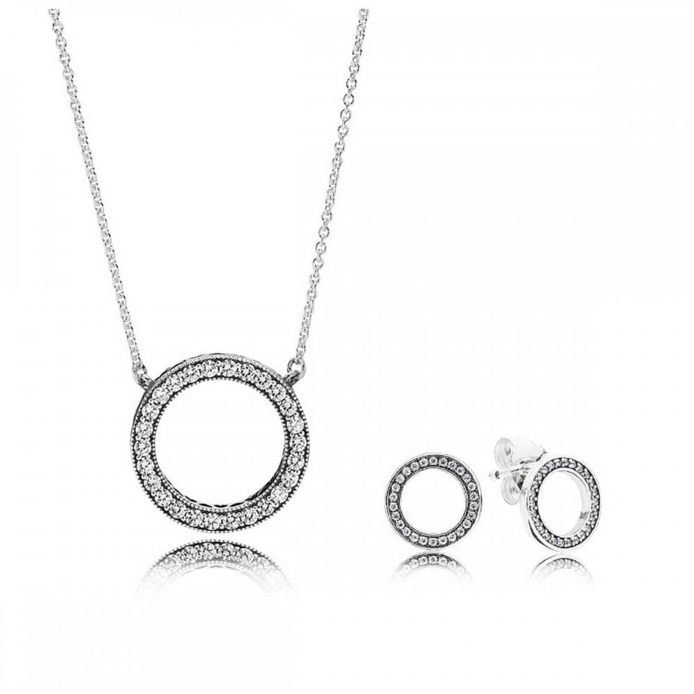 Pandora Hearts Of Pandora Gift Set Inside Most Recently Released Pandora Logo Circle Necklaces (Gallery 25 of 25)
