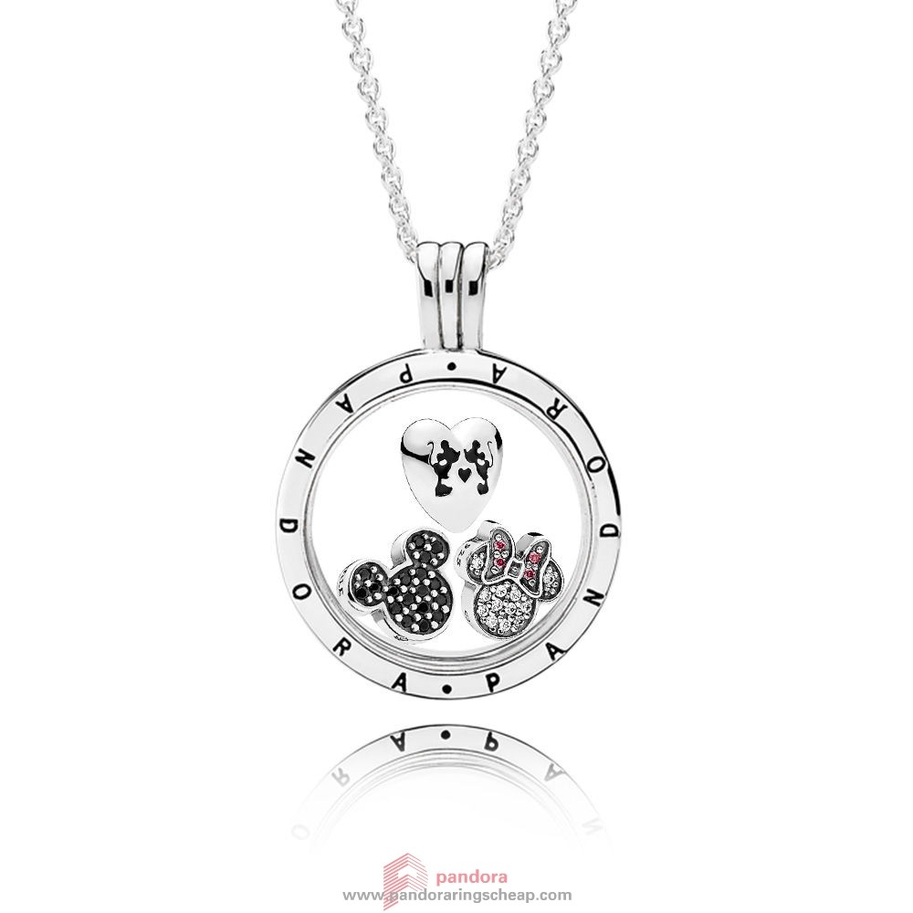 Pandora Jewelry Collection Promotion Top Pandora Pandora Disney Pertaining To Most Recently Released Disney Mickey Floating Locket Necklaces (View 7 of 25)