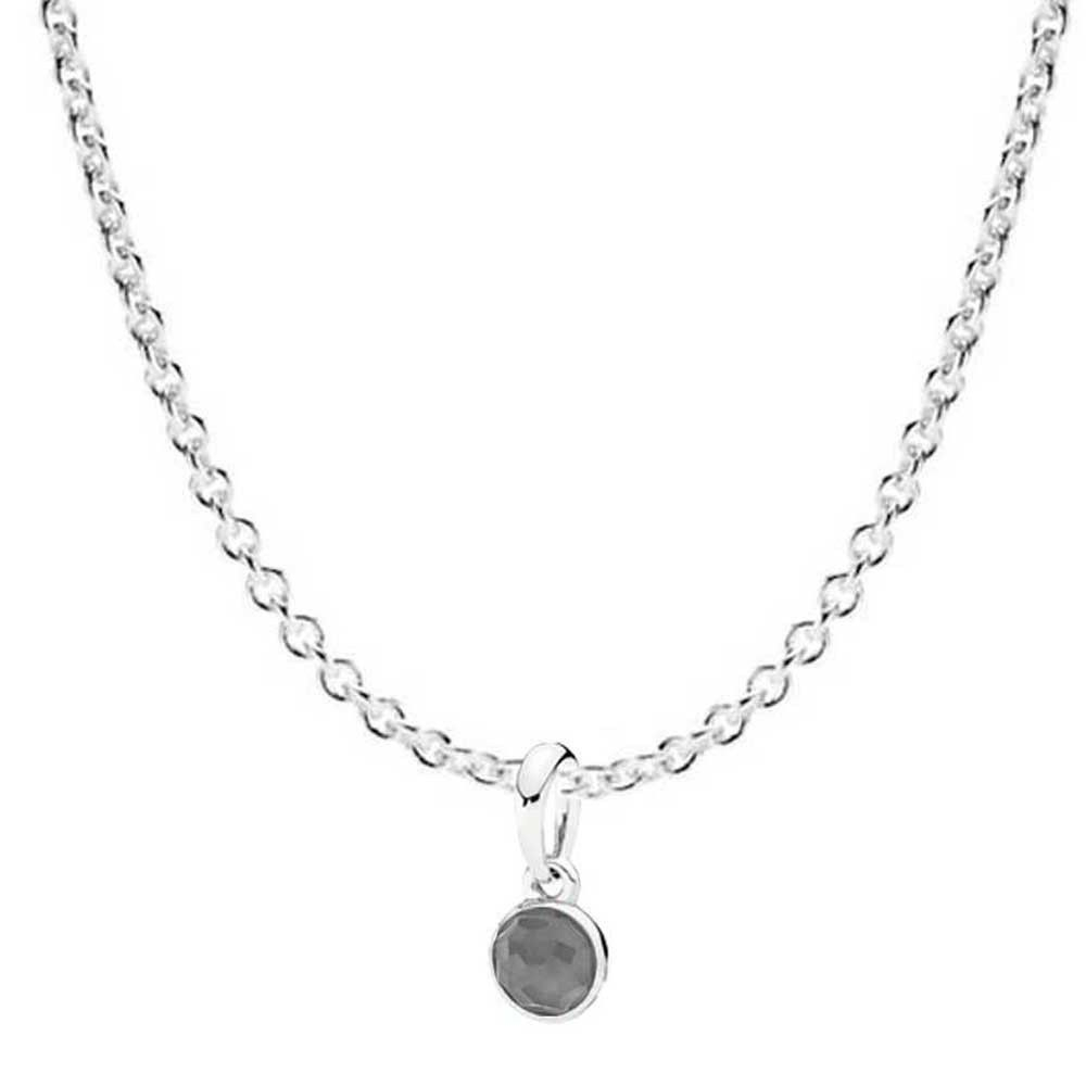Pandora June Droplet Birthstone Necklace Jsp0090 In Silver Pertaining To 2019 Grey Moonstone June Droplet Pendant Necklaces (View 18 of 25)