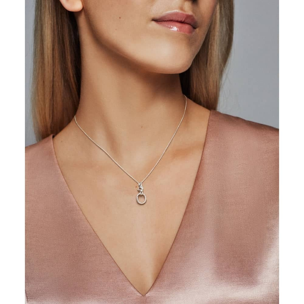Featured Photo of Knotted Heart Pendant Necklaces