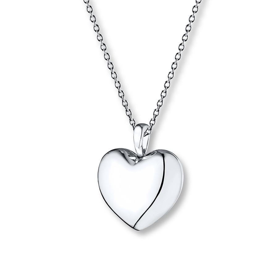 Featured Photo of Pandora Lockets Logo Heart Dangle Charm Necklaces