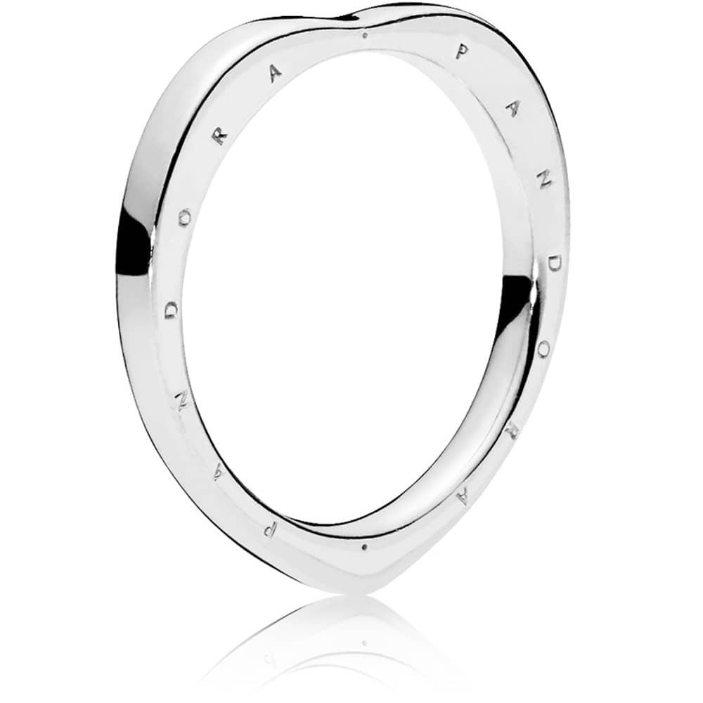 Featured Photo of Heart Shaped Pandora Logo Rings