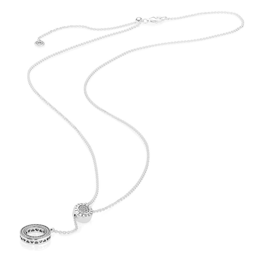 Pandora Logo Necklace Inside Newest Pandora Logo Circle Necklaces (View 15 of 25)