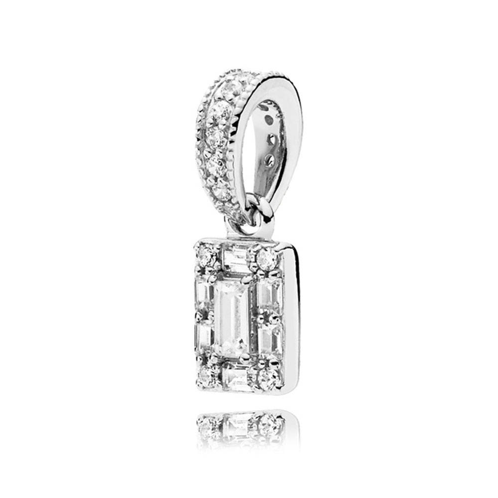 Pandora Luminous Ice Cz Pendant In Most Recent Sparkling Ice Cube Circle Pendant Necklaces (View 11 of 25)