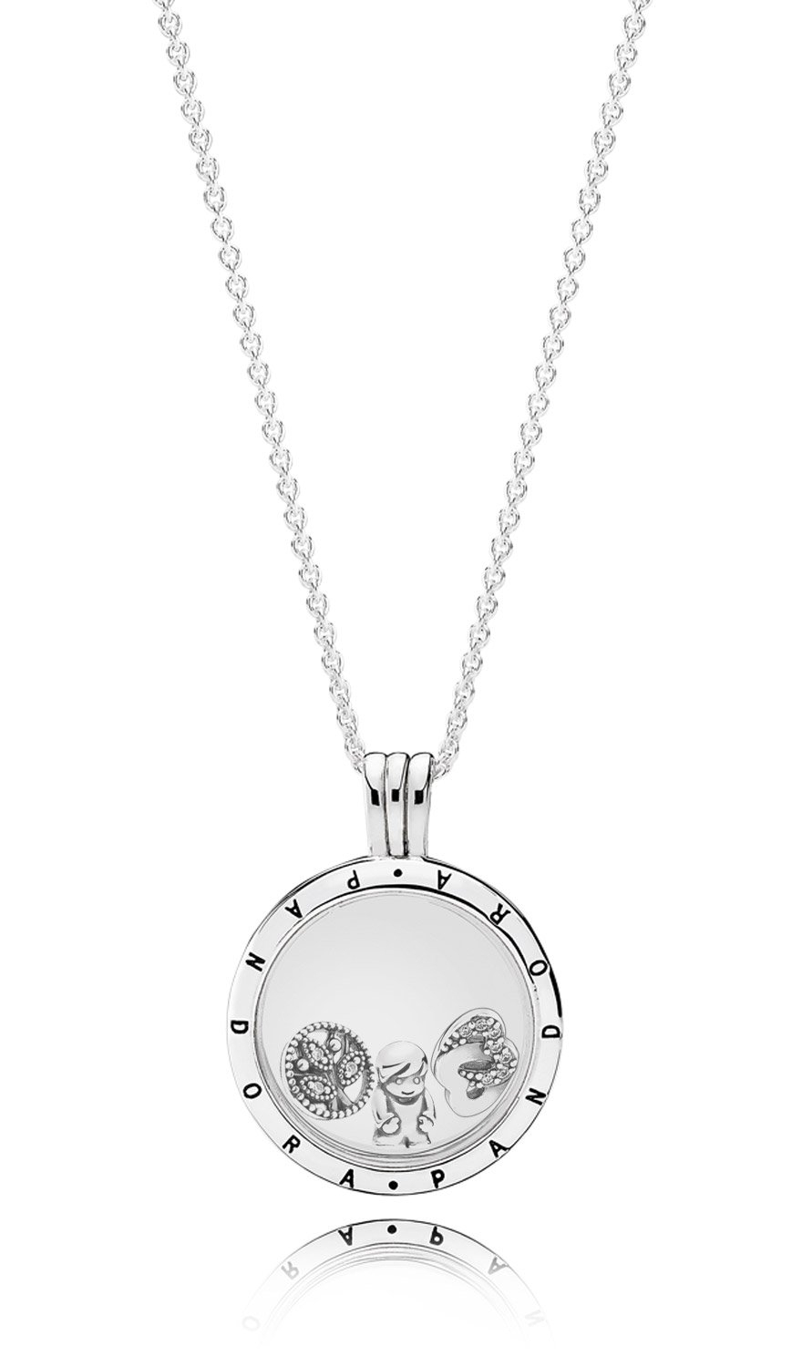 Pandora Medaillons And Elements At Low Prices • Uhrcenter Shop With 2019 Letter Z Alphabet Locket Element Necklaces (View 21 of 25)