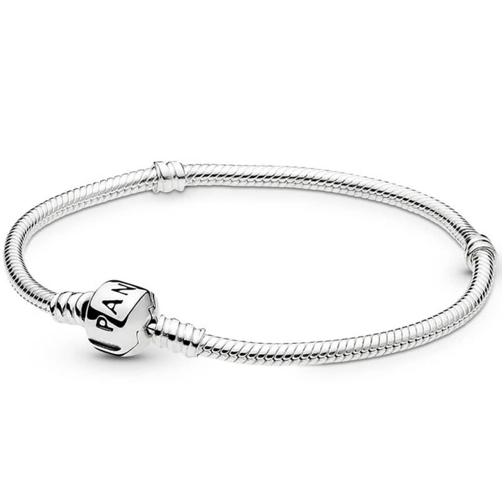 Pandora Moments Snake Chain Charm Bracelet 590702hv With 2020 Pandora Moments Snake Chain Necklaces (View 9 of 25)