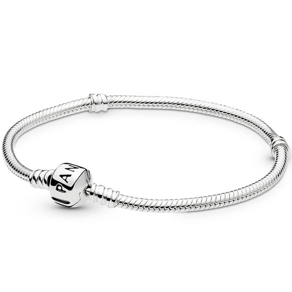 Pandora Moments Snake Chain Charm Bracelet 590702Hv With Regard To Most Recent Pandora Moments Snake Chain Necklaces (View 17 of 25)