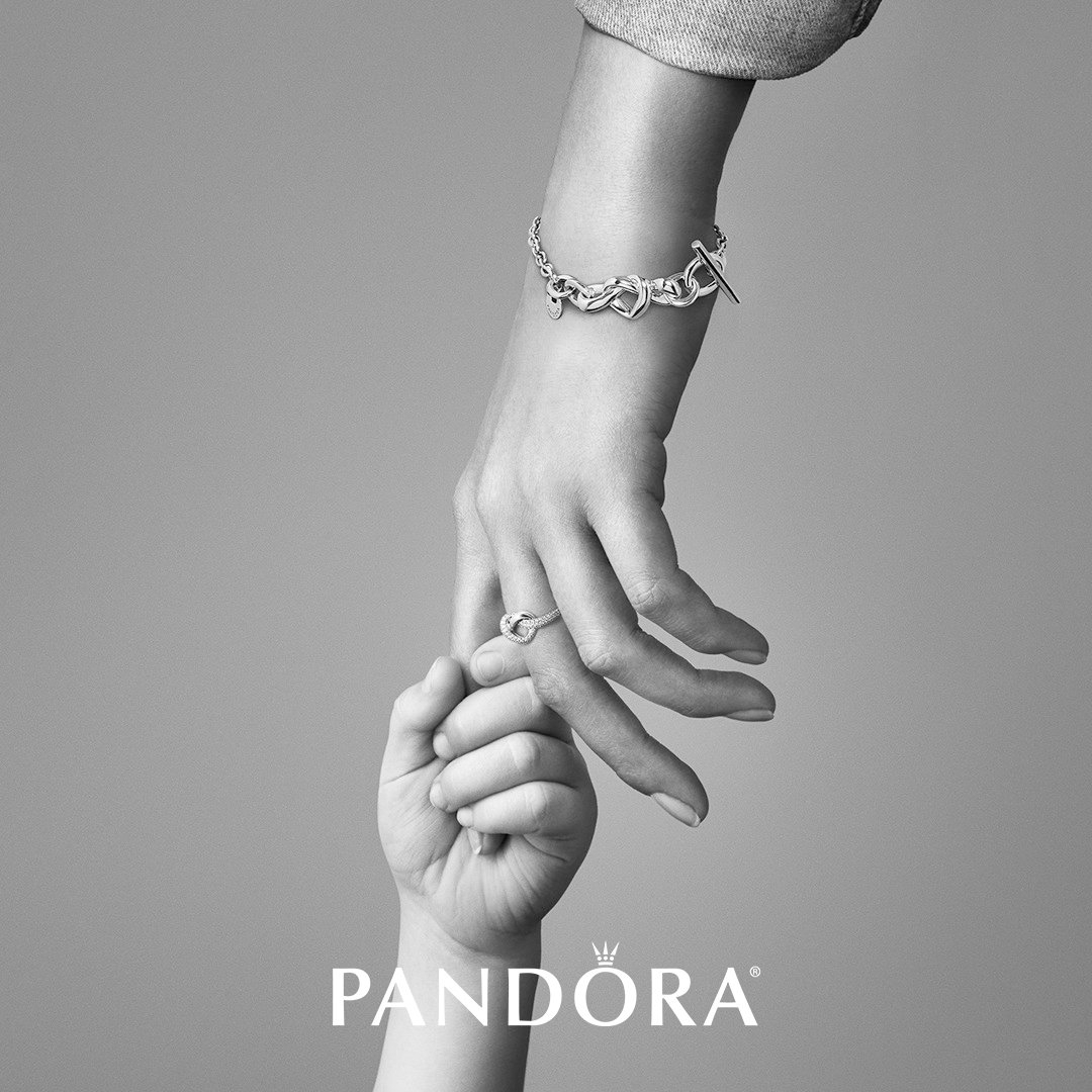 Pandora Mother's Day Gift Guide | Pandora® Mall Of America With Regard To Most Up To Date Knotted Hearts T Bar Necklaces (View 17 of 25)