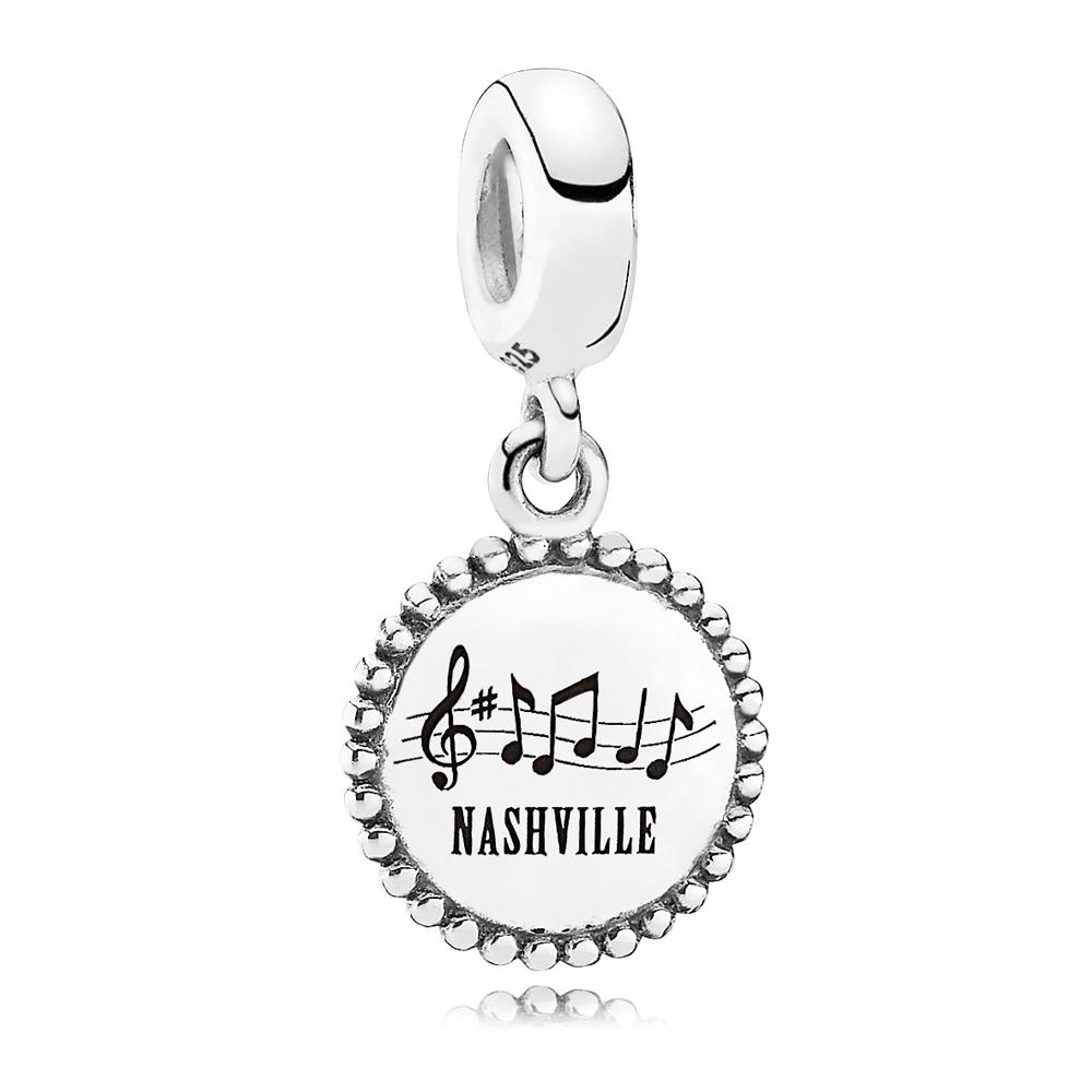 Pandora Nashville Traveler Dangle 347508 [Pandora Charms 7911Cz Throughout Most Up To Date Pandora Lockets Logo Dangle Charm Necklaces (View 16 of 25)