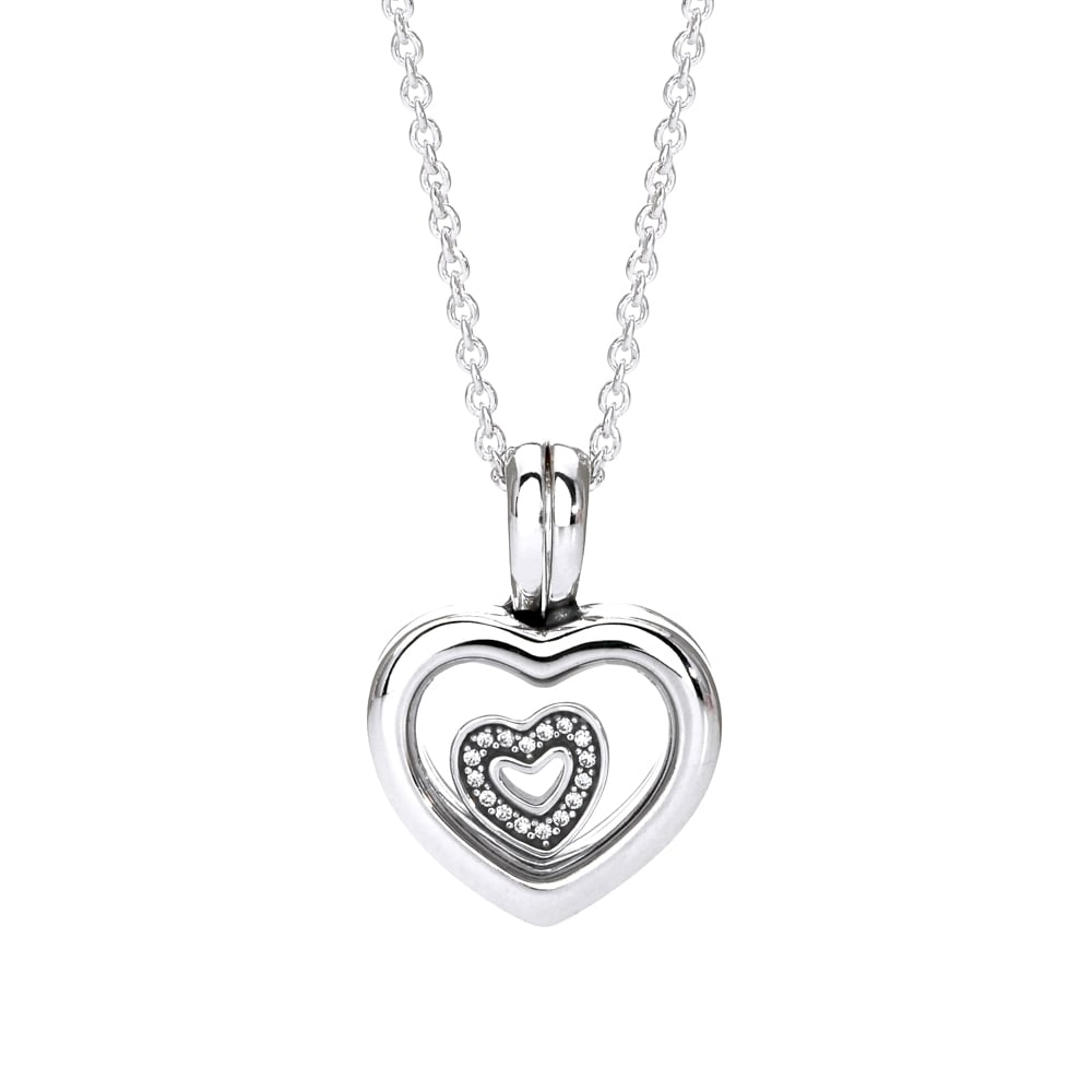 Pandora Necklace Locket : Shop Pandora Charms, Rings, Earrings Intended For 2020 Hearts Of Pandora Necklaces (View 19 of 25)